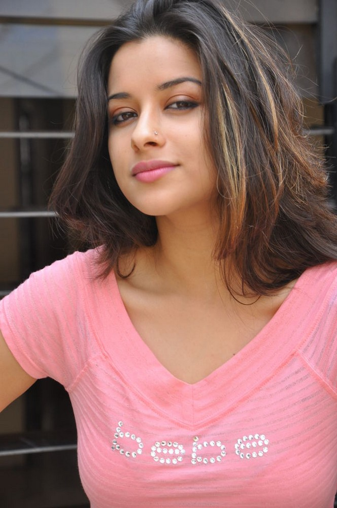 Beloved and gorgeous Madhurima latest pics in pink dress
