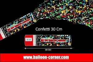 Party Popper / Confetti Ukuran 30, 40, 50, 60. 80, 100 Cm (GROSIR)