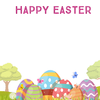 2/5 Designs of Easter eggs Facebook Frames Free Download