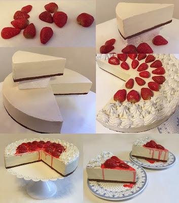 réplica de alimentos, tortas de telgopor, imitación tortas