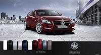 Mercedes CLS 350 2015 màu Đỏ Thulite 541