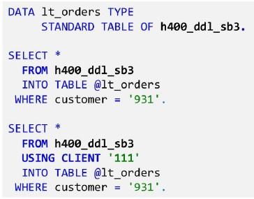 Cds Example Sap