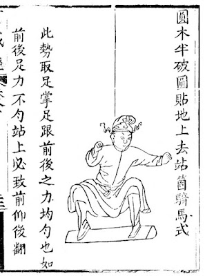 Ming Chinese Balance Board Training