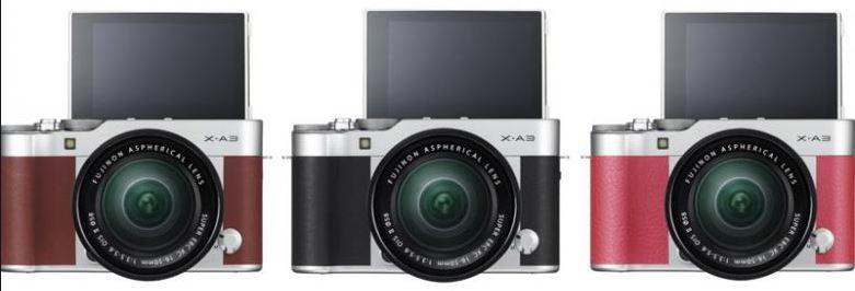 Fitur Pilihan Kamera DSLR X-A3 Kit 16-50mm murah ini memiliki bagian body yang  didesain ulang dengan penutup aluminium atas f66981bd12