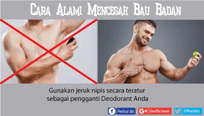 Jeruk nipis untuk mencegah bau badan