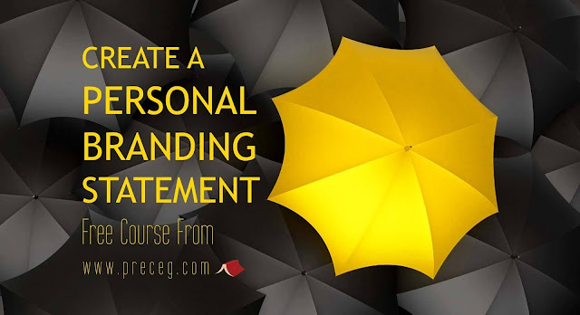 Personal Branding Statement Examples.