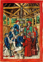 Torture_chamber_under_the_roof_in_the_Water_Tower_of_Lucerne_Luzerner_Schilling_Folio_129v