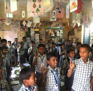 Trio World Academy partners with Parikrma Humanity Foundation to make Kodigehalli government school into  a model school