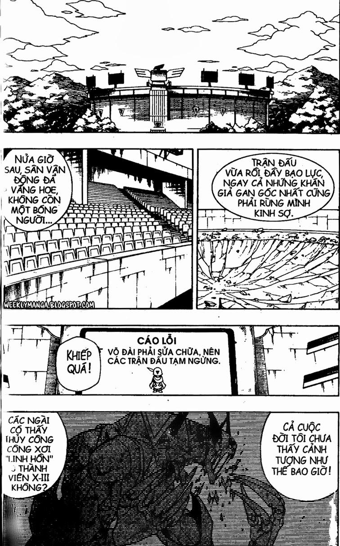 Shaman King [Vua pháp thuật] chap 141 trang 10