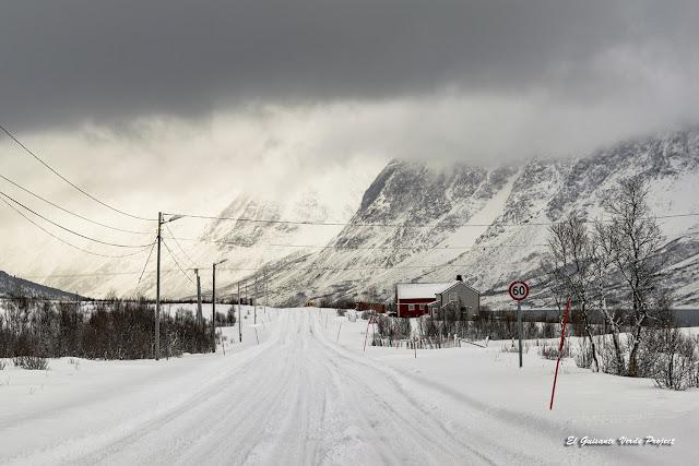 Carretera 91 Lyngen Alps - Tromso por El Guisante Verde Project