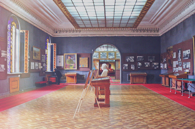inside State Museum Of Stalin