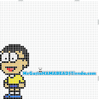 hama beads mini nobita