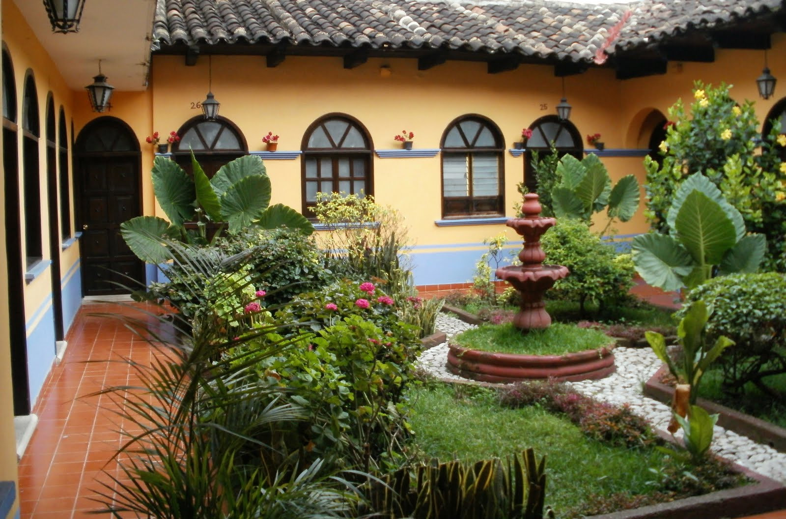spanish style house plans with courtyard pilgrimage through the americas bus trip from hell 6724