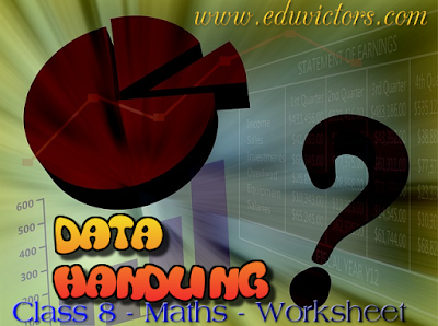 CBSE Class 8 - Mathematics - Data Handling (Worksheet)  (#cbseNotes)