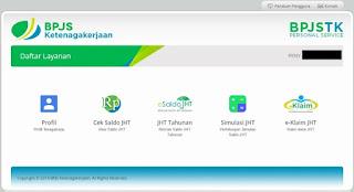 Cara Mudah Cek Saldo Jamsostek / BPJS Ketenagakerjaan Secara Online