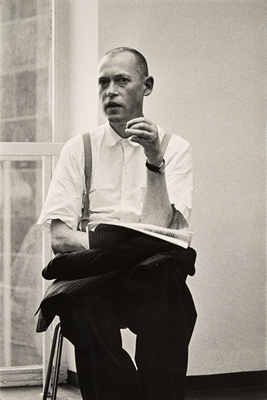 Bruno Gironcoli Photograph by Walter Kranl