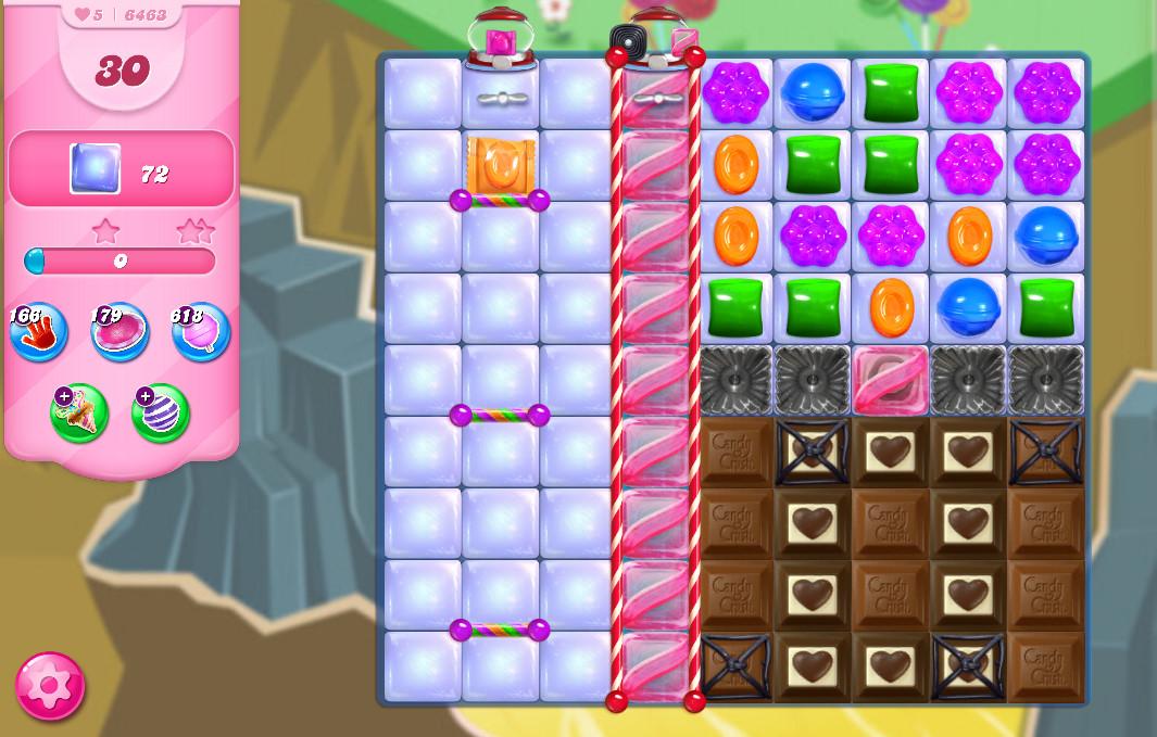 Candy Crush Saga level 6463