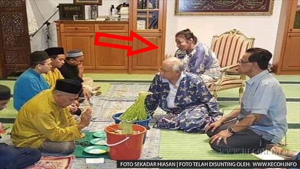 Gambar Najib Dan Rosmah Buat Ritual Pelik Tersebar Dan Jadi Kecoh