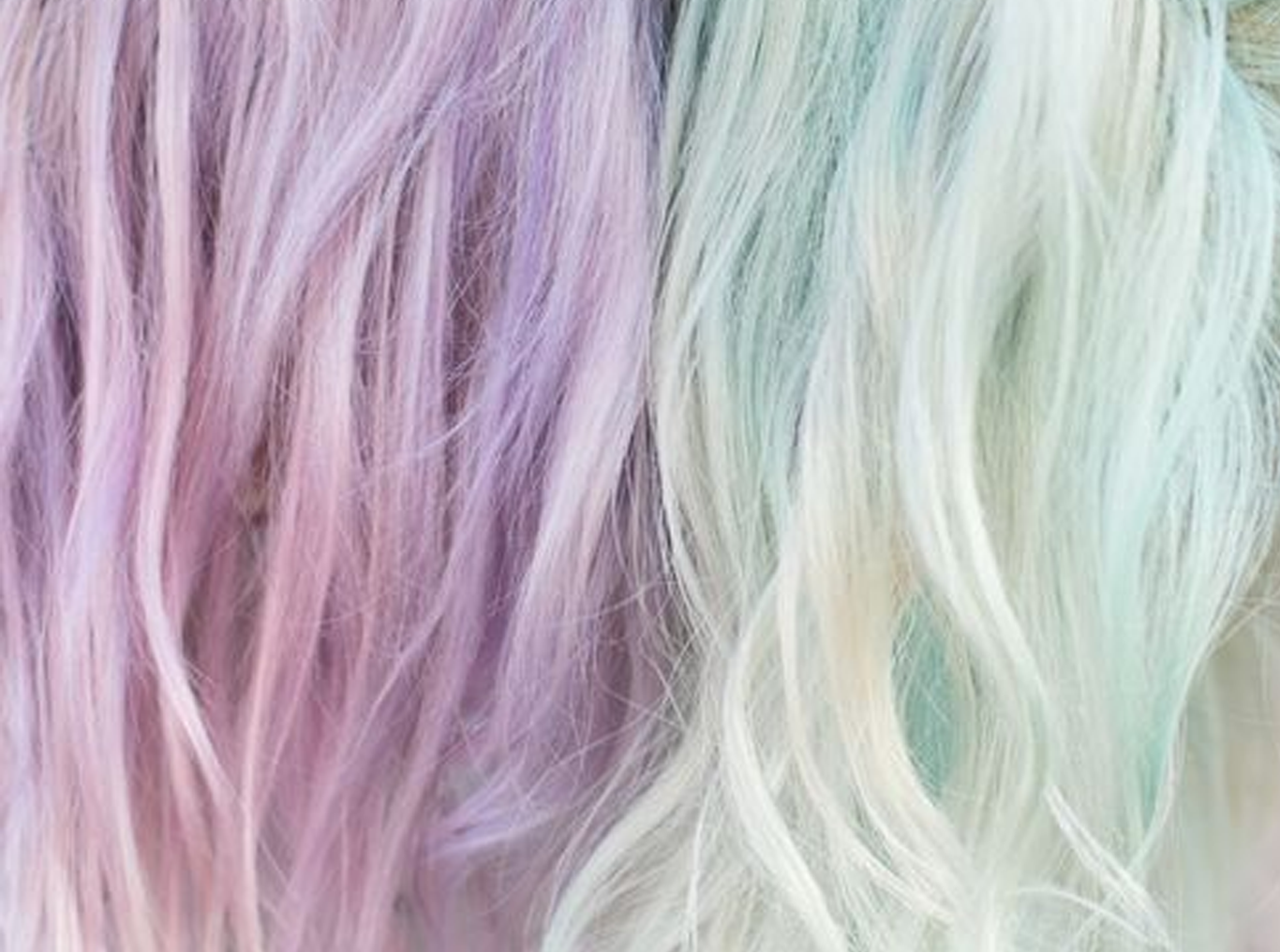 worries about dyeing hair pastel shades
