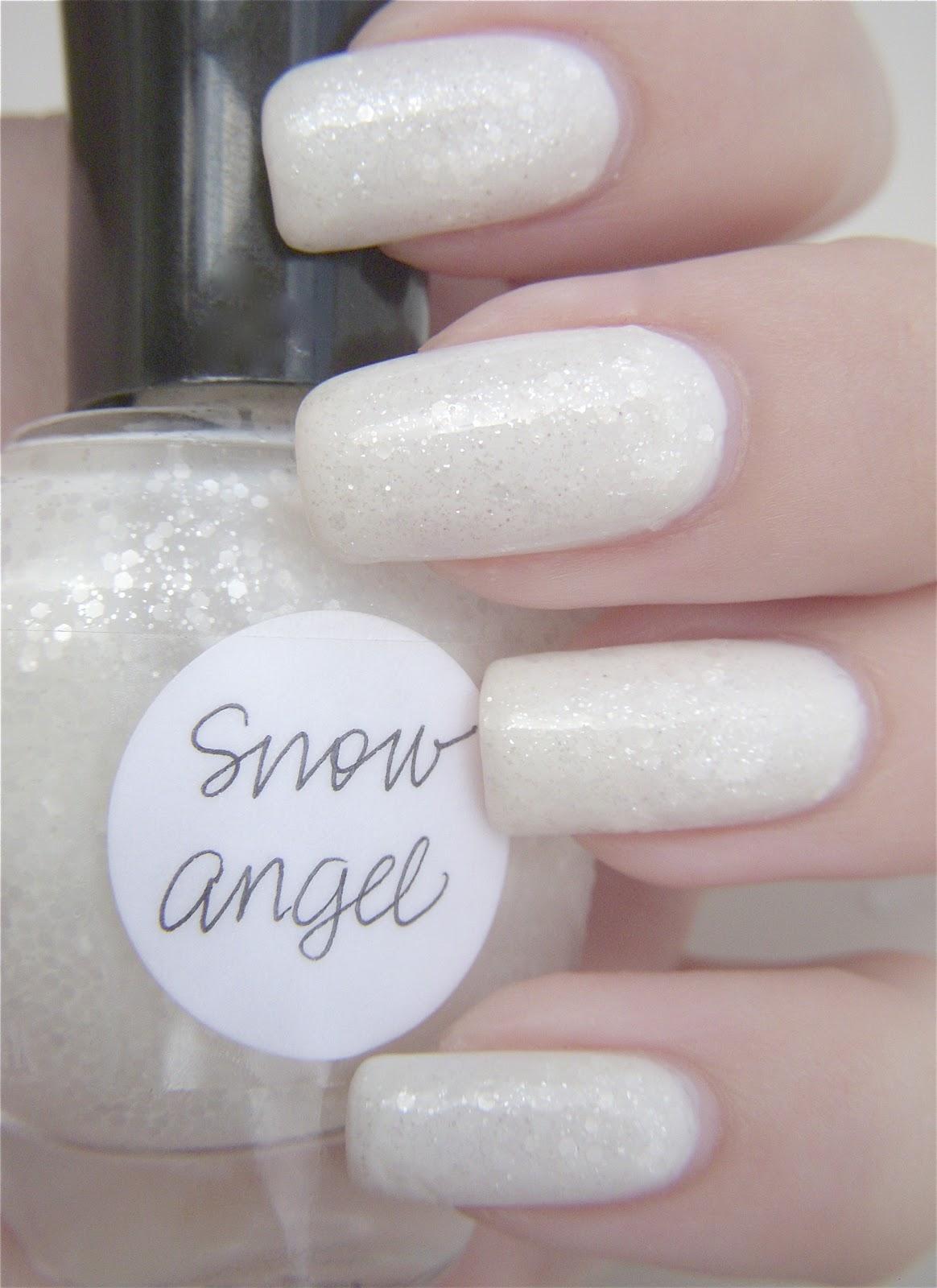 I Drink Nail Polish: Lynnderella Snow Angel