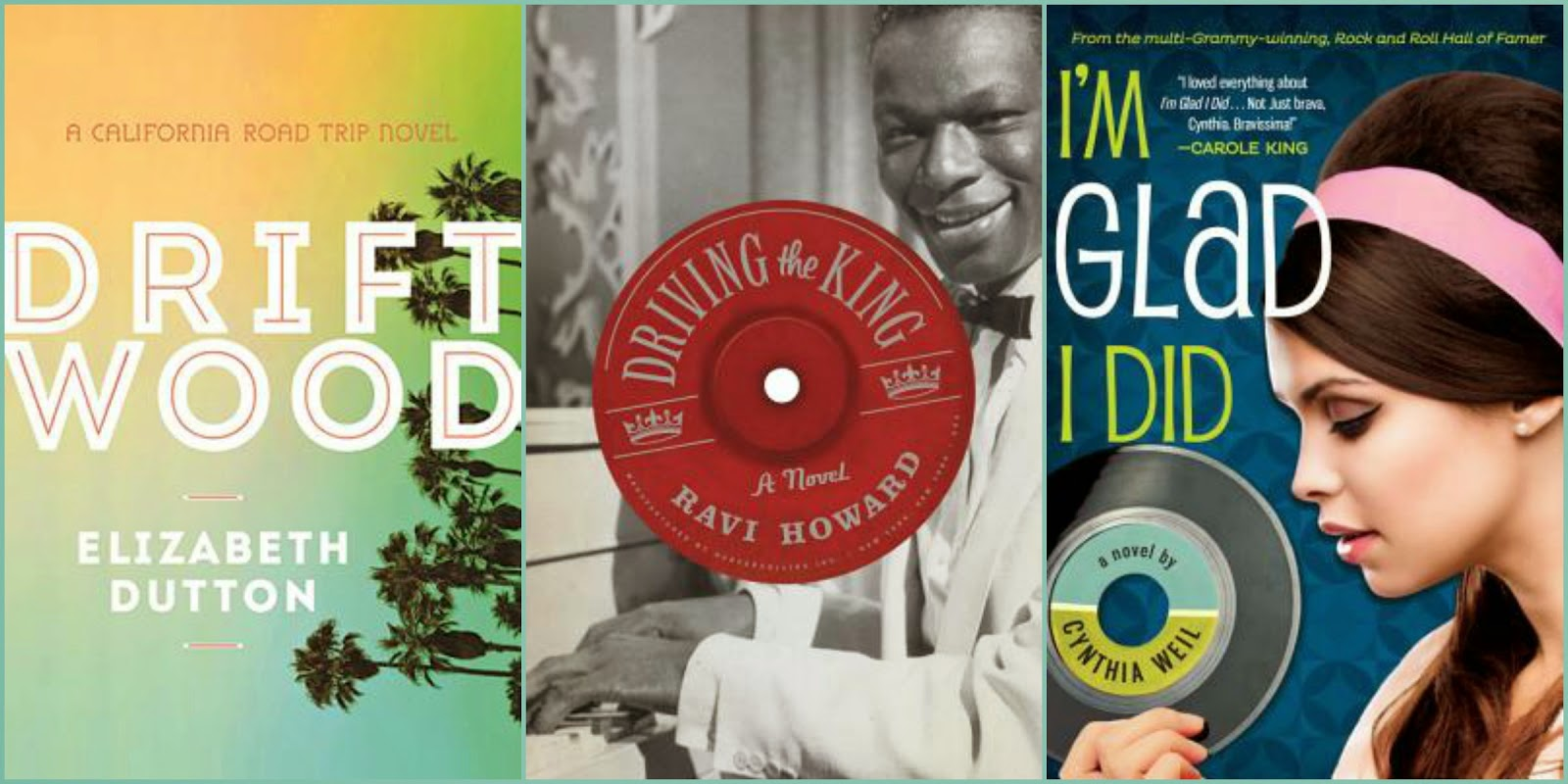 Driftwood by Elizabeth Dutton, Driving the King by Ravi Howard, I'm Glad I did by Cynthia Weil