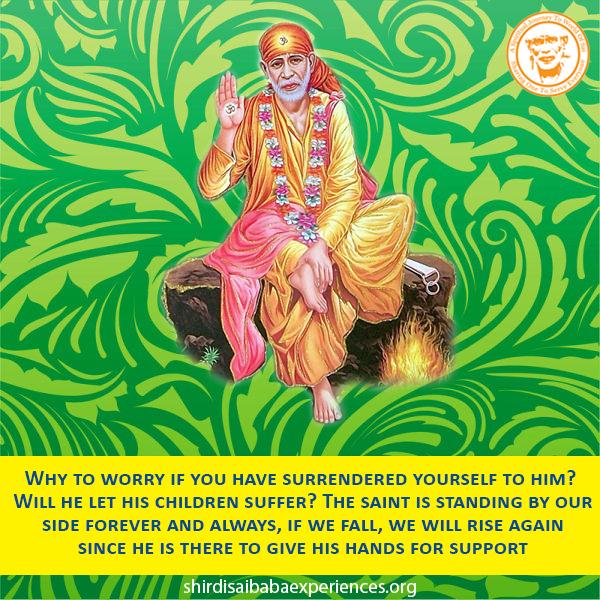 Baba You Are My Saviour - Anonymous Sai Devotee
