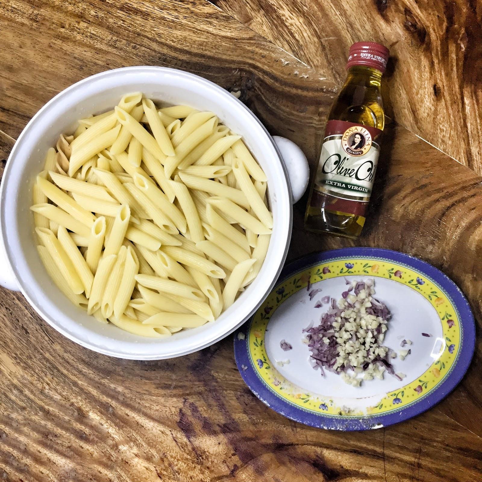 recipe: tuna alfredo with penne pasta [39]