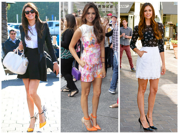 The Blush Blonde Celebrity Style Obsession Nina Dobrev