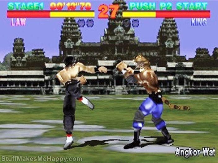 14. Tekken (1994)Tekken 7 (2017)