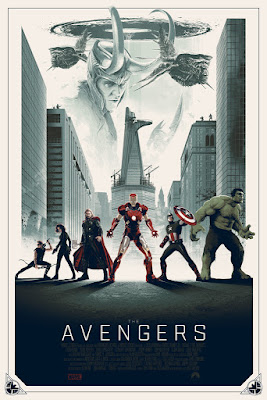 The Avengers Movie Variant Screen Print by Matt Ferguson & Grey Matter Art
