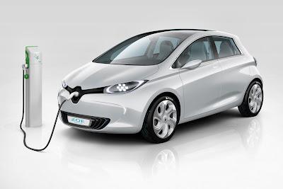 Informações sobre o carro elétrico da Renault