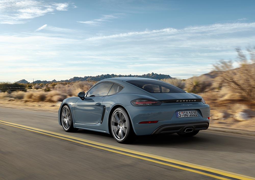 Siêu xe Porsche 718 Cayman 2017 có giá từ $54.950