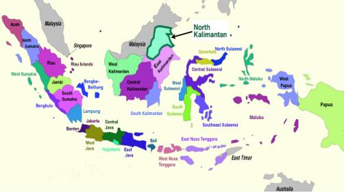 Peta Pembagian Wilayah Provinsi Di Indonesia