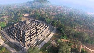 Megahnya Candi Borobudur