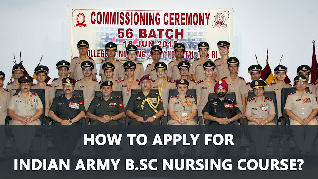 Free B.Sc Nursing Course in Military Medical Colleges