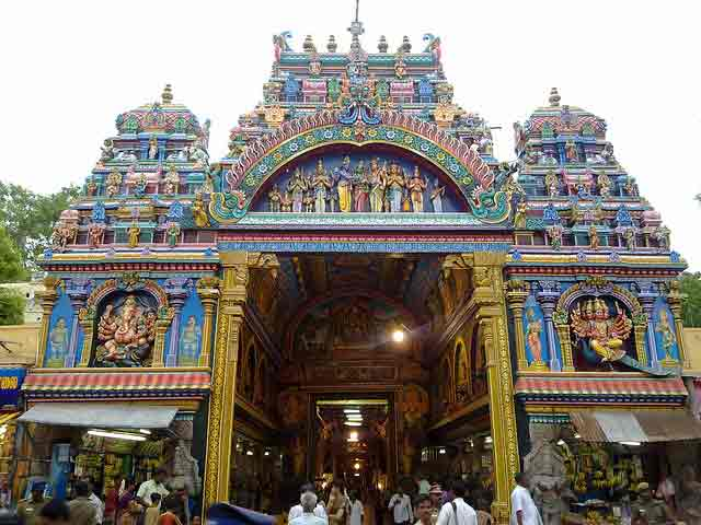 Meenakshi Temple, Madurai in india