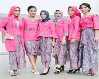 baju batik couple keluarga murah