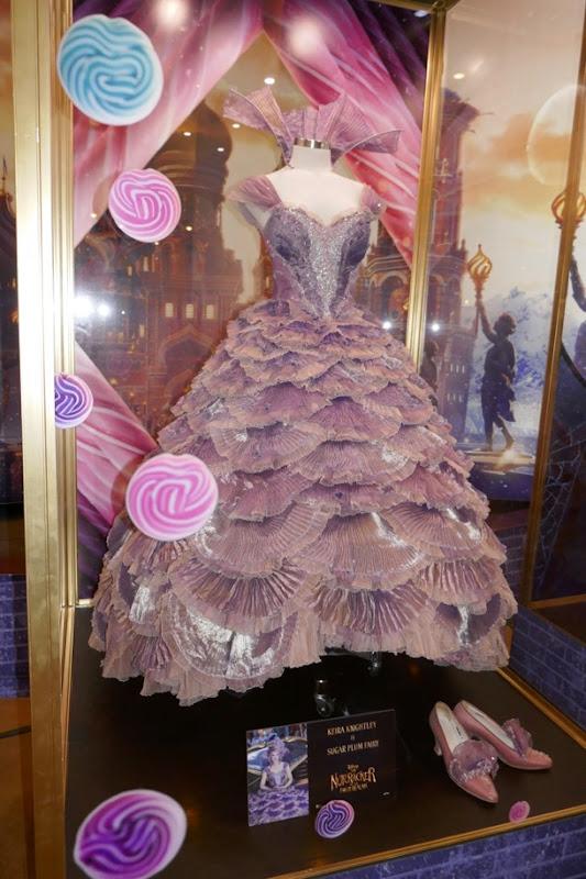 Keira Knightley Nutcracker Four Realms Sugar Plum Fairy gown