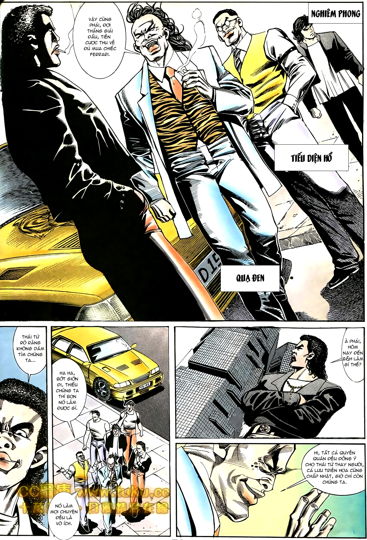 Người Trong Giang Hồ chapter 187: huynh đệ tình trang 13