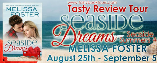 BLOG TOUR: SEASIDE DREAMS by Melissa Foster, spotlight & review