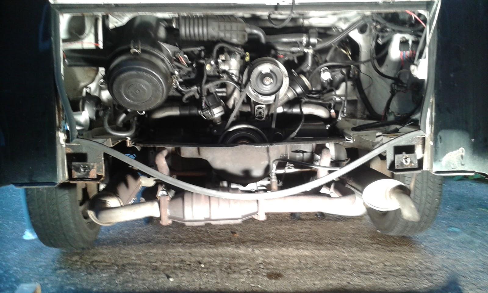 hight resolution of brazilian t2c kombi bay uga engine removal