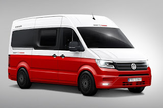 Volkswagen Crafter (Knaus Saint & Sinner) (2017) Front Side