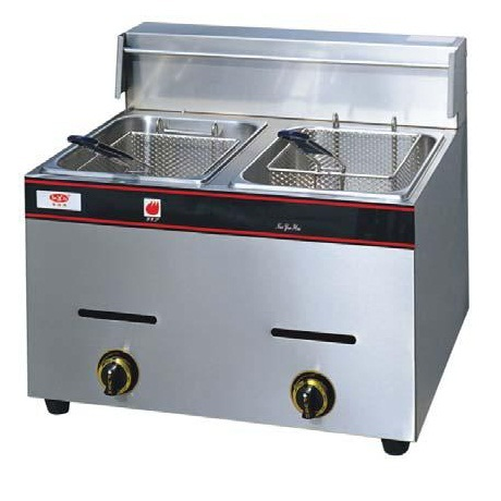 Double Tank Gas Deep Fryer Rm779 Model Df G20 Dimension 580 X 520 445 Mm 10 4 35400 Capacity 5 Liter 2