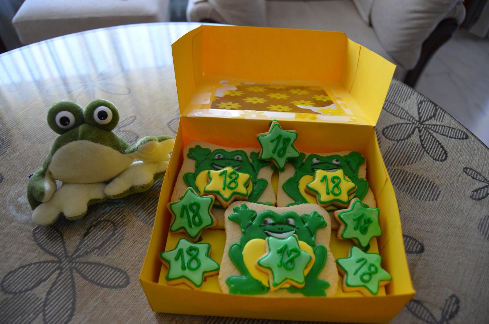 Experimentos dulces de AnaKato: Ranitas de cumpleaños