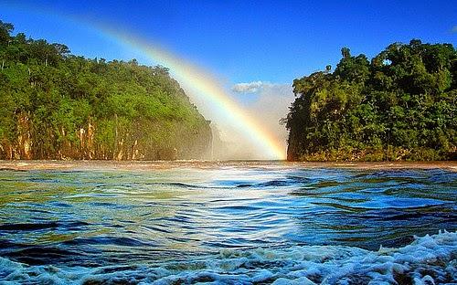 Rainbow at Parana Brazil