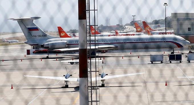 EEUU llama a todos los países a bloquear la ruta a Venezuela para los aviones rusos