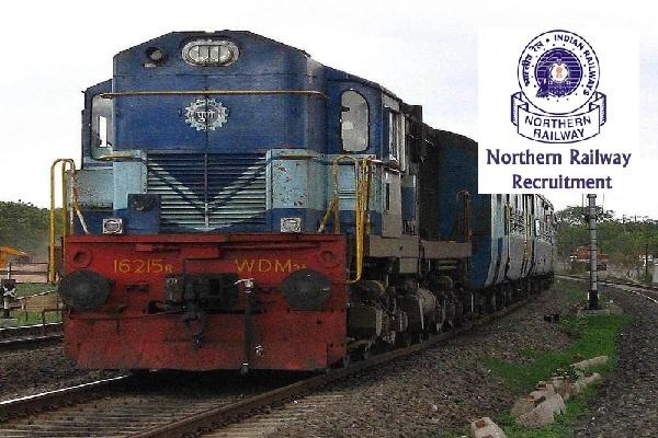 Northern Railway 3162 Recruitment Application Online