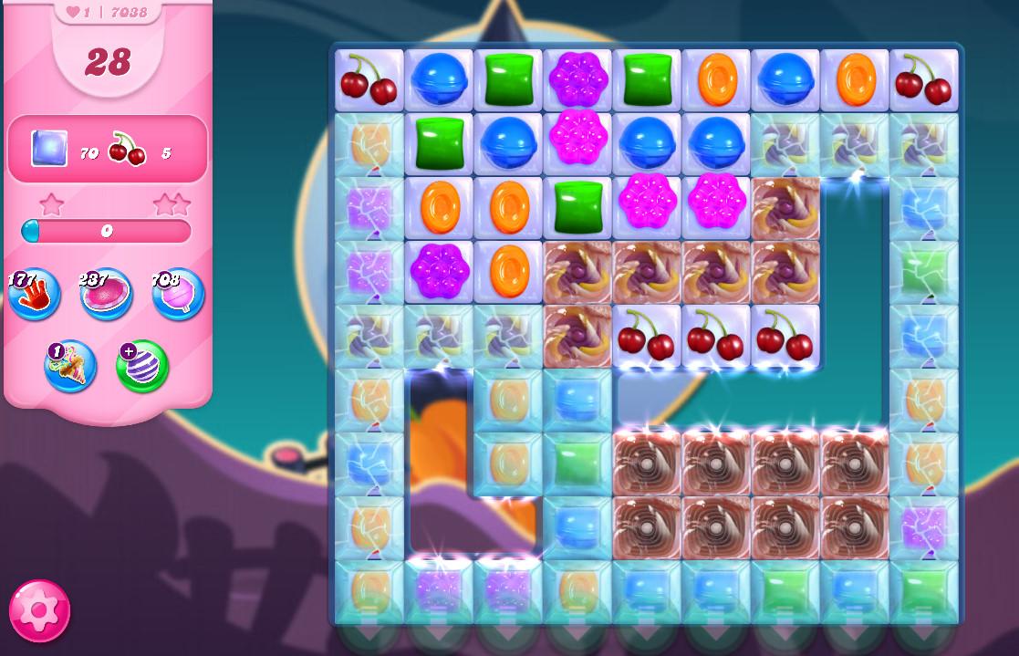 Candy Crush Saga level 7038