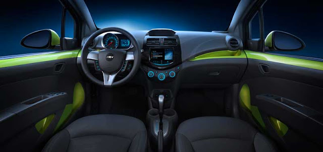 2013 Chevrolet Spark interior - Subcompact Culture