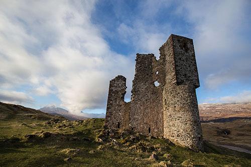 Ardvreck Castle, Sutherland, Scotland.